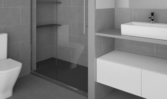Xavier Gero Interiorismo Barcelona baño