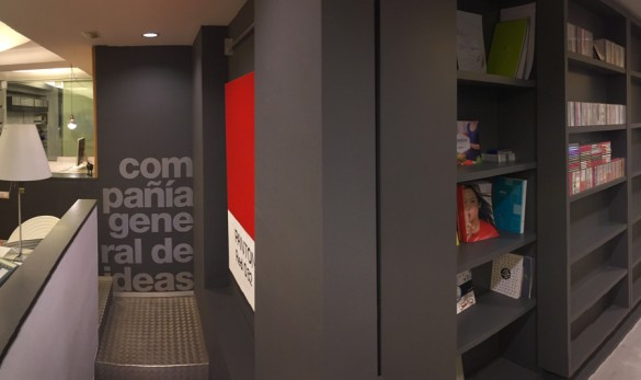 Xavier Gero Interiorismo Barcelona interior despacho Compañía general de ideas-comunicación