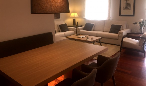 Xavier Gero Interiorismo Barcelona proyecto Balmes mobiliario salón