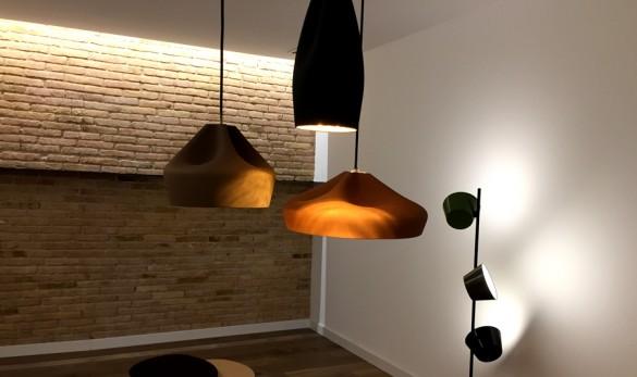 Xavier Gero Interiorismo Barcelona proyecto Muntaner detalle luces comedor