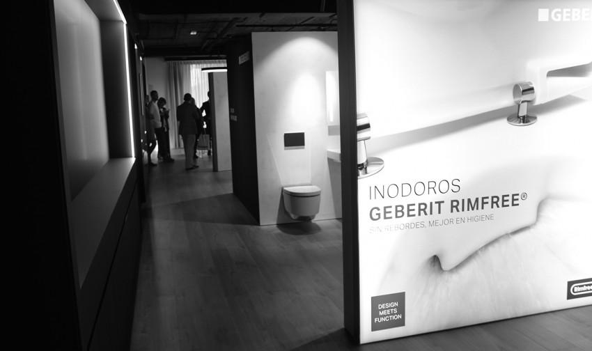 Inauguración Showrrom Geberit Baños en Barcelona